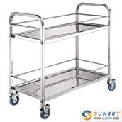 Stainless Steel Drinking Cart