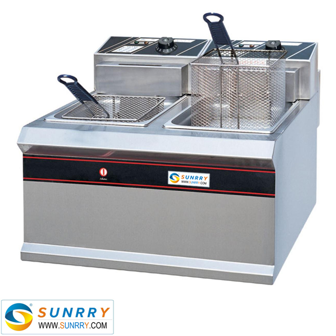 Electric 2-Tank Fryer