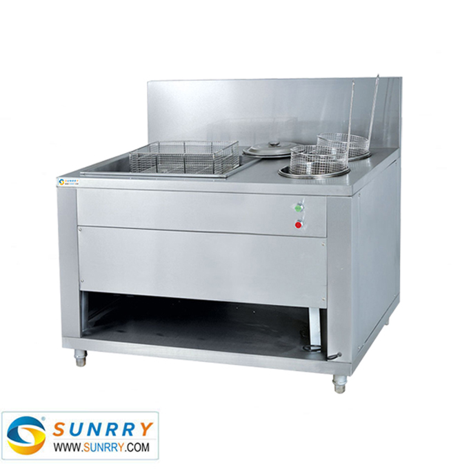 Stainless Steel Electric Breading Table with sifter